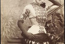 Victorian theatrical costumes