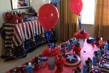 Capitan Americas party ideas