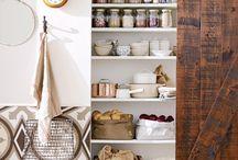 Organiza tu cocina - Organized kitchen & pantry / Organización y almacenaje para cocinas y despensas... Guarda tus cosas con estilo! - Organization ideas or your kitchen & pantry...