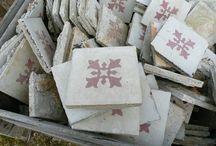 All kinds of tiles! / I Looooooove tiles, especially the cute retro kind. / by Deborah Jackel