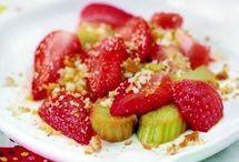 Dessert fruits jardins