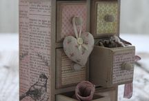Mini chest / Paper drawers
