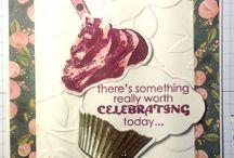 Cards- StampinUp Cupcake