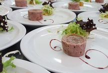Wedding Food Inspiration / Delicious dishes from a range of wedding breakfasts and receptions at Northcote Manor in Devon