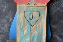 Superheroes~preschool theme
