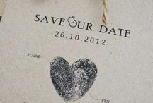 cute wed invite
