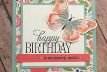 Stampin' Up - Happy Birthday Everyone
