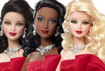 Holiday Barbies