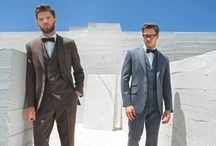 Tweed Suit and Waistcoat Collection / Our range of tweed suits and waistcoats can be hired or brought. Tweed waistcoats are available in men's and boy's sizes.