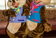 Disney Park Fur Characters / Costumed characters from Disney parks