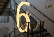 W17 stairwells + wayfinding