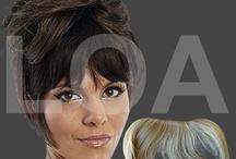 Frange / Extension / Tantissimi modelli di: extensione, frange, parrucche... Visita il nostro strore http://www.loacenter.com/parrucche-posticci.html