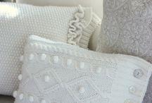 Подушки - дизайн, идеи