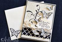DIY - kaarten - vlinders