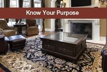 Area Rug Buying Tips / Area Rug Buying Tips Whether you are looking for a simple area rug for your entryway or a vintage collectible area rug to put on display, these tips create the foundation for what you need to know!