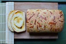 yummy breads / by Tressie Luna