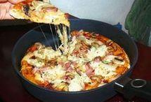 Pizze, zapiekanki