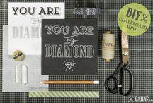 Chalkboard Typography / Kreidetafel Typografie