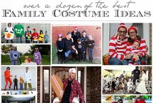 Costumes DIY / costumes | diy | fun | unique | homemade | sewing | easy | kids | family | dress up | halloween