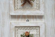 çiçekli tablolar