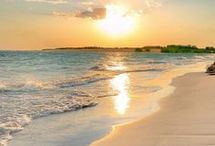 A praia