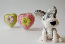 Amigurumi - mini hračky / amigurumi, hračky, háčkované, pro děti