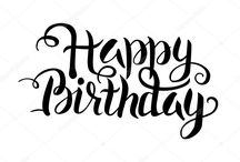 текс happy birthday 1