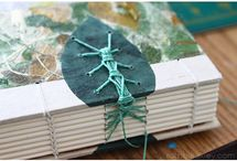 Handmade Journals / What better place to keep all of your writing than in a handmade journal!