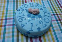Birth cakes for boys