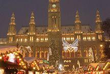 Weihnachtsmärkte und Weihnachten in Austria / Weihnachtszeit #weihnachten #feiertage #festzeit #christkindlmarkt #markt #adventmarkt #christmas #markt #österreich #austria