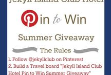Jekyll Island Club Hotel Pin to Win Summer Giveaway / Jekyll Island is my favorite place...My boyfriend and I talk about one day getting married at the Crane Cottage.  / by Michelle Estevez