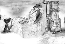 drawings&illustrations / Pencil & color - traditional & digital...