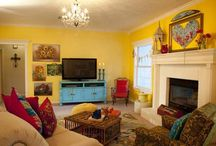 "big happy family living room - HGTV ""junk gypsies"" series / by JuNK GyPSY"