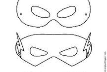 Máscaras de super-herói