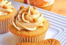 Biscoff/Cookie Butter Cupcakes by Cupcake Project Pinterest Explorers / The person who decided to turn cookies into a spread should be given a medal.  The person who turns that spread into a cupcake should be YOU!  This board is curated by the Cupcake Project Pinterest Explorers. Learn how to join here: http://www.cupcakeproject.com/join-the-pinterest-explorers. Our mission is to scout, pin, and share cupcake fun!  / by Cupcake Project