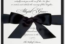 Classic Wedding Invitations / by The Green Kangaroo, Inc.