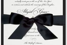 Classic Wedding Invitations / by The Green Kangaroo, Inc.