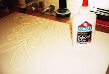Art {Surface Design} / Ways to finish surfaces.