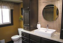 Create The Clean / collection of ideas for the main floor powder room, kids bath, & basement bath / by Andrea Stolba-Ritzke