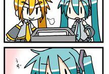 Comic Vocaloid