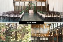 I Do Sodo / Gorgeous wood and metal venues and what goes well inside of them!