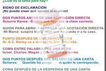 Gramática- para nuestro salón / Spanish Grammar usage
