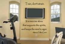 Exercise Room @ the home / by Lacy Wilson