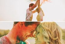 Holi Colors Wedding Photoshoot Photos Ideas