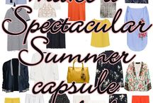Spectacular Summer 2016 capsule wardrobe / ...make them all or just choose your favorites, you can't go wrong!