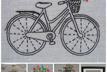 bordado de bike