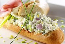 toastjes salade