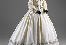 1860-1869 Women's Historical Fashion / by Lucy Funk