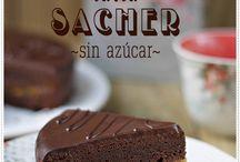Postres sin azúcar / Sugar free / gluten free