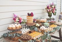 • Dessert table •